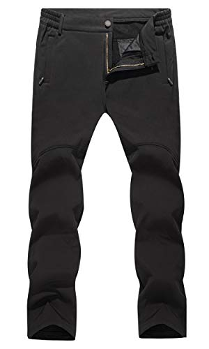 Men Outdoor Pants Army Miliray Pants Fleece Lining Pants Water Resist Snow Pants Windproof Pants Ski Pants