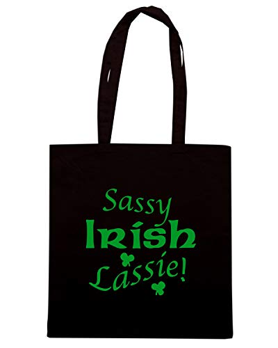 Borsa Shopper Nera TIR0175 SASSY IRISH LASSIE LIGHT