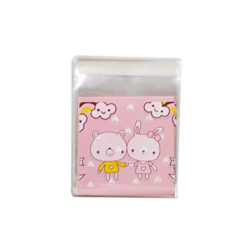 25/50Pcs 10X10Cm Cute Cartoon Gifts Bags Packaging Self-Adhesive For Biscuits Candy Food Cake,S20,50Pcs