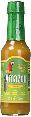Mango Hot Sauce - Hot n' Sweet Mango Sauce 5.2 fl oz.
