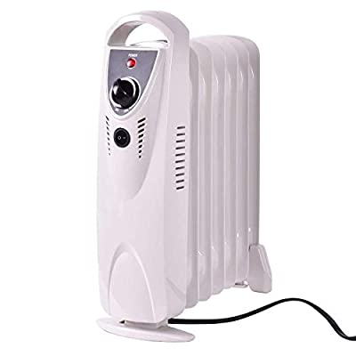 Tangkula Electric Oil Filled Radiator Heater Portable Home Room Radiant Heater