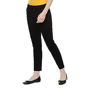 Allen Solly Women's Straight Fit Regular Pants