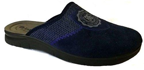 mod uomo 22 BG INVERNALI pantofole blu NUOVO ciabatte da INBLU xqPfUXX