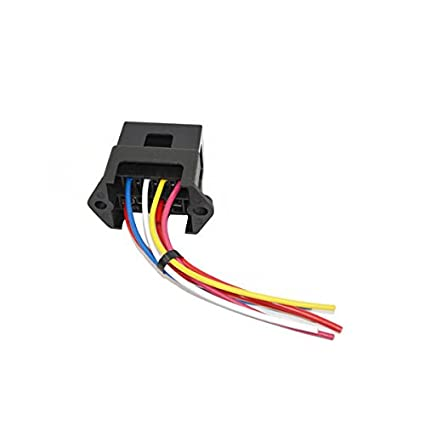 buy generic jz5501 jiazhan car 4 way fuse box 4 road with wire modification  basic block auto fuse holder online at low prices in india - amazon in
