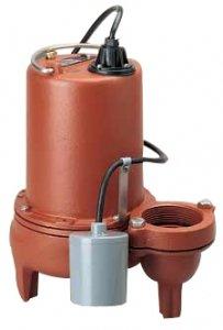 Pump, Sewage, 3/4hp, 12a