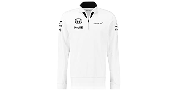 McLaren Honda Oficial Equipo 1/4 Cremallera para Hombre Macho ...