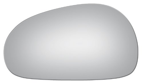 1994-2004 Ford Mustang Flat, Driver Left Side Replacement Mirror Glass (Ford Mustang Left Door Mirror)