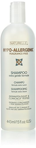Naturelle Hypo-Allergenic Fragrance-Free Shampoo 15 oz (2 pack)