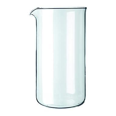 Bodum 12-Ounce Coffee Press Replacement Beaker, Glass