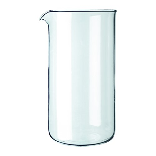 Bodum Replacement Beaker French Press, Replacement 12 Oz Clear Glass Bodum Glass Bowls