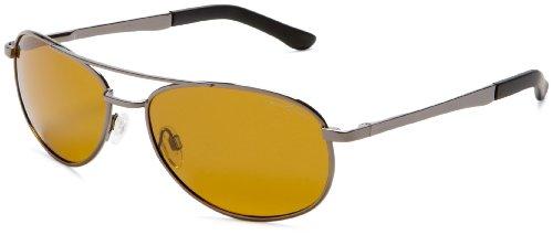Eagle Eyes Aviator Polarized Sunglasses - Aviator Glasses with Brow Bar