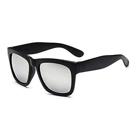 eyx fórmula 2016 Nuevo Color espejo lente grande cuadrado cuerno con borde  gafas de sol polarizadas 9f4a4ae8959f