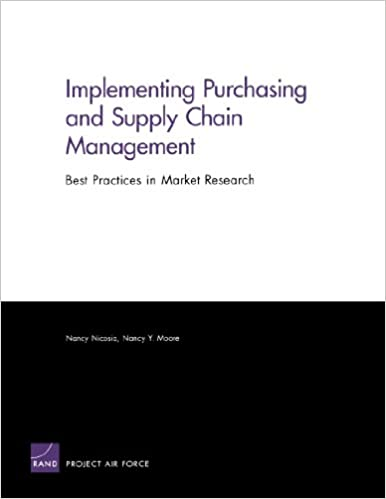Implementing Purchasing and Supply Chain Management Best Practices in Market Research
