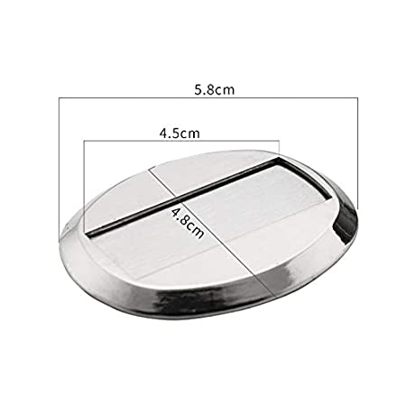 Du/šial Door Stopper Wall Protector Anti-Collision Floor Mounted Holder Stop Catch Magnetic Invisible Stainless Steel