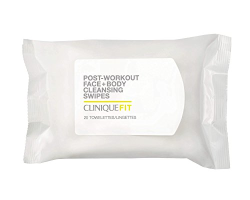 Clinique Post Workout Face And Body Cleansing Wipes