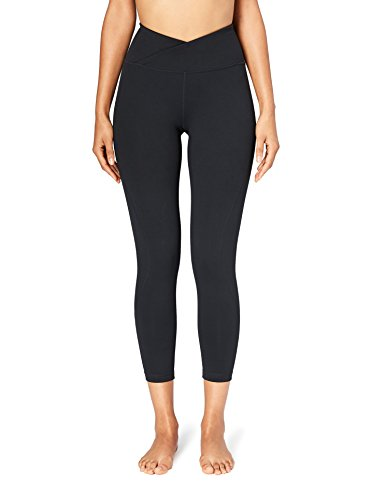 Core 10 Women's (XS-3X) 'Build Your Own' Yoga 7/8 Crop Legging (Multiple Waist Styles Available)