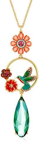 kate spade new york Hummingbird Pendant Necklace, 22