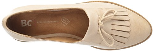 Bc Chaussures Femmes Oxford Flash Nude