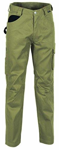 Cofra V014-0-00.Z58 Walklander Pantalon, Beige/Noir, Taille 58