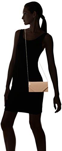 SWANKYSWANS Pochette in pelle da donna, modello Melania Beige (Nude)
