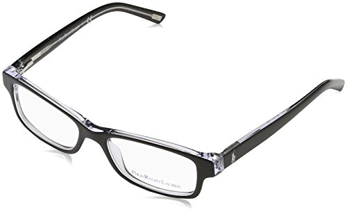 Polo PP8518 PP8518 Eyeglass Frames 541-46 - Black/Crystal