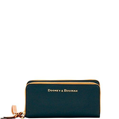 Zip Bourke Around Dooney Wallet (Dooney & Bourke City Double Zip Large Wallet)