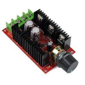 10-50V 40A DC Motor Speed Control PWM HHO RC Controller 12V 24V 48V 2000W MAX (US)