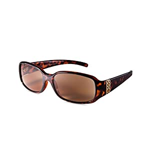 EYEGUARD Comfortable Stylish Simple Outdoor Reading Sunglasses Bright Design of and Elegant Womens Reading Glasses with Beautiful Patterns for Ladies Readers-Not BiFocals