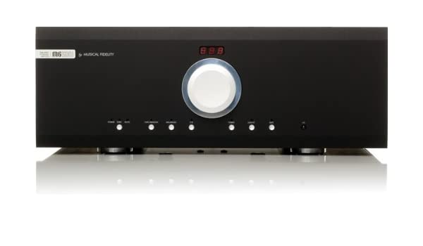 Amazon.com: Musical Fidelity - M6 500i - Integrated Amplifier - Black: Home Audio & Theater