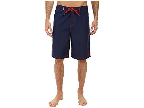 Hurley Men's One and Only 22-Inch Boardshort, Mid Navy H 1, 34