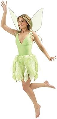 Vestuario de hada o de Campanilla disfraz traje cuento Disney ...