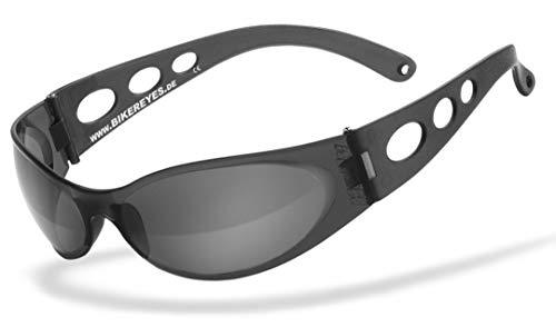HELLY® – No1 Bikereyes® | Bikerbrille, Motorradbrille, Motorrad Sonnenbrille | windabweisend, bruchsicher, beschlagfrei…