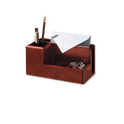 Wood Tones Desk Organizer, Wood, 4 1/4 x 8 3/4 x 4 1/8, (Sanford Mahogany Pencils)