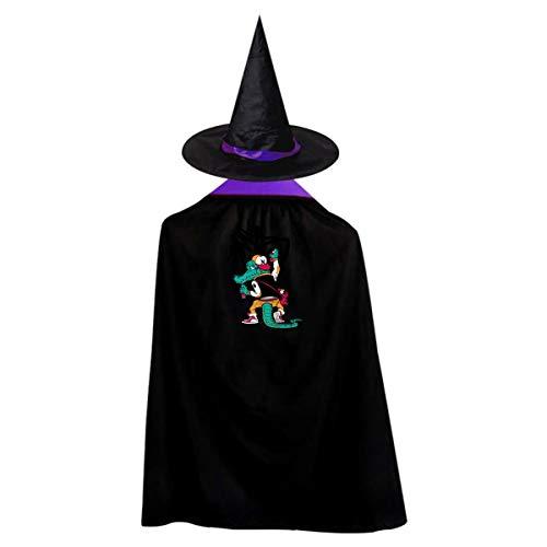 HAE1WT Crocodile Doodle Wizard Set, Cape & Hat, -