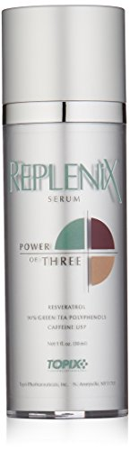 Antioxidant Red Tea Serum - Replenix Power of Three Serum with Resveratrol, 1 Oz