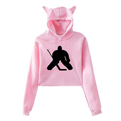 Skates Hockey Sleeve Long (Hockey Goalie,Long Sleeve Sports Tops,Womens Sexy Stylish Hoodie Sweater Girls Cute Hoodies)