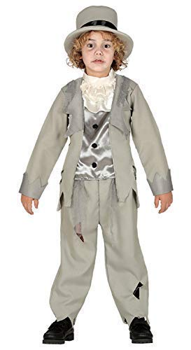 Boys Teens Dead Corpse Ghostly Ghost Groom Spooky Creepy Halloween Fancy Dress Costume Outfit 3-12 Years (3-4 -