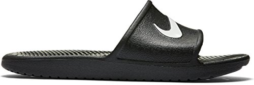 Nike Kawa Shower, Chaussures de Plage et Piscine Femme Black/White