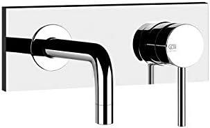 Gessi Via Tortona basin wall mounted tap 38497 + 44823