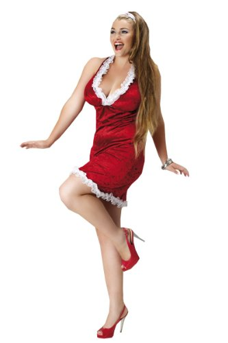 rotes Weihnachtskleid Weihnachts Outfit Snow Flake von Andalea ...