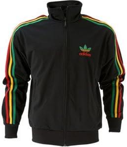 adidas Originals Firebird Rasta (Rojo, Verde y Amarillo) Chaqueta ...