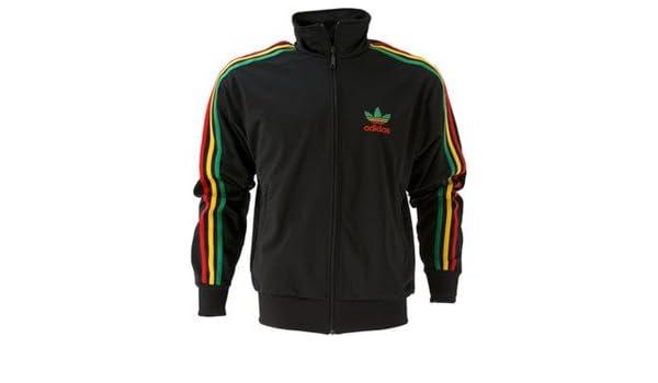 Amarillo Chaqueta Rasta Firebird Y Adidas Originals rojo Verde qCYxUUPz