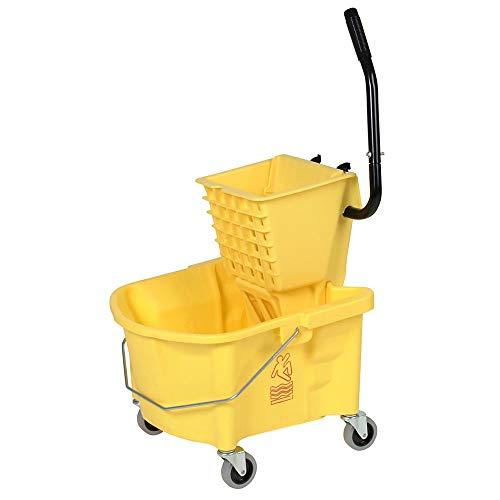 splash guard mop bucket wringer - 7