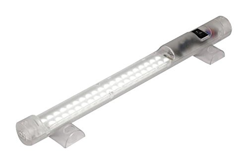 STEGO 02540.0-01-0003 LED Light Bar, Screw Mount, On/Off Switch, Daylight, 900 lm, 5 W, 240 VAC, 351 mm, IP20