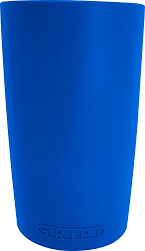 GRiPi Sleeve for YETI Cooler Tumbler (Ocean Blue) Silicone Grip for 20 oz. or 30 oz. Drinks | Colorful, Personalized Insulated Cup Cover