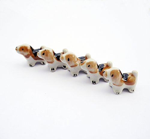 Micro Trolley - 5 Pcs Animal Dollhouse Miniatures Figurine Decor Toy Gift (Dog)