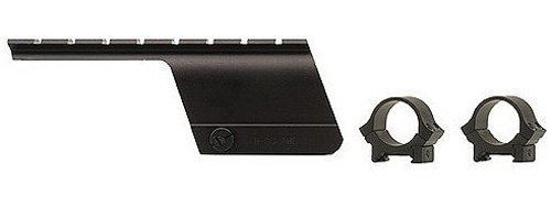 B-square Shotgun Mount - B-Square Benelli Nova 12 Gauge Shotgun Saddle Style Mount, Matte Black Finish