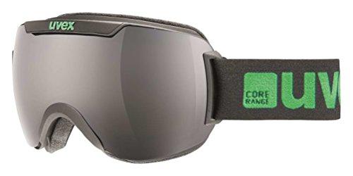 Uvex Downhill 2000 Goggle Black MatteSmoke-Lasergold Lite One Size