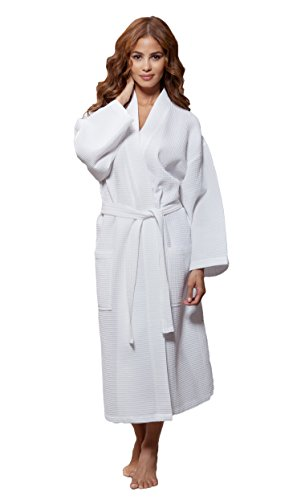 """Most women have several robes to fit different settings and seasons. A lightweight woven cotton robe is perfect for warmer weather while a flannel or cozy knit robe warms up a chilly night. We might also have a sexy satin robe, perhaps with an animal print, which is reserved for """"special occasions.""""."""