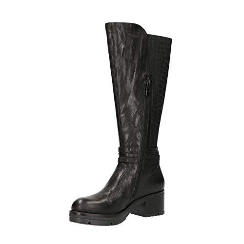 Donna 7133 A807133d Stivali Scarpe Nero Giardini txzHYY